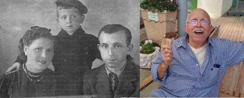 אליעזר המדריך ותמונה מילדותו