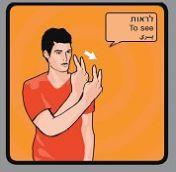 לראות בשפת הסימנים