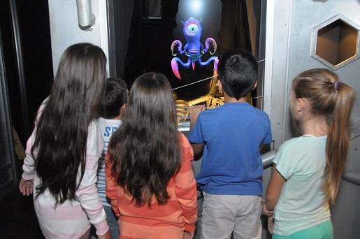 ילדים במסלול החייזרים
